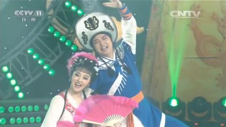 花鼓戏《刘海砍樵》经典选段,精彩得舞台演绎,观众掌声不断!