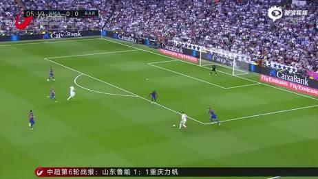 视频梅西2球+92分钟绝杀 拉莫斯染红皇马23巴萨