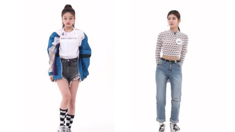 【热搜】韩国女团itzy成员对比Yeji VS Lia