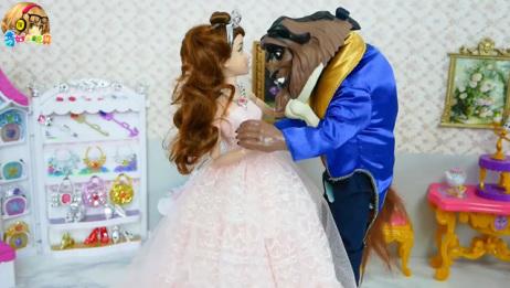 美女与野兽娃娃贝尔卧室