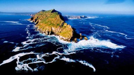 世界上最危险的海域,非洲大陆最南端的好望角,印度洋与大西洋交汇处!