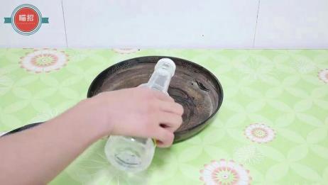 不管铁锅生锈多严重,这样做,锈渍轻松去除,铁锅再也不生锈