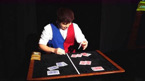 中国小伙子真厉害,夺得世界近景魔术冠军,纸牌魔术神乎其技!