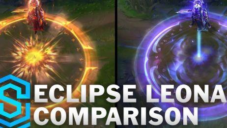 【日蚀骑士/月蚀骑士蕾欧娜(Solar Eclipse Leona/Lunar Eclipse Leona)】 《英雄联盟》  新皮肤合集