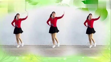 广场舞《冬天里的白玫瑰》