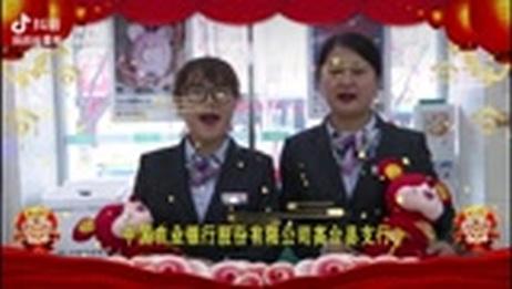 中国农业银行高台县支行全体员工㊗️您鼠年大吉,行大运❣️