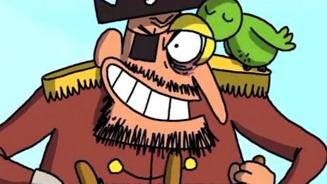 《卡通盒子》4个意外故事,遇上海盗这么做,可以保命?