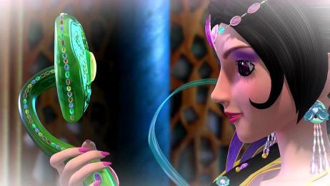 精灵梦叶罗丽5:冰公主将玉如意还给女王,辛灵为此担忧不已
