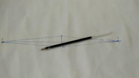 裁剪服装画省位做记号,用这种笔真是太好了