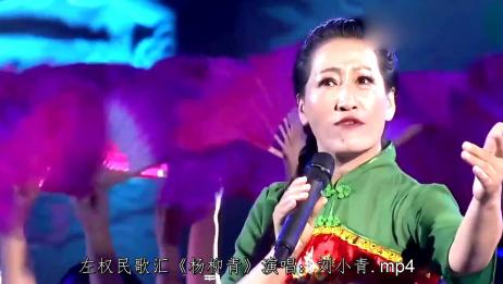 刘小青深情演唱一首《杨柳青》,歌声嘹亮,好听极了!