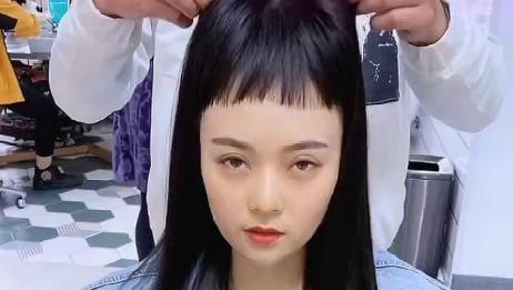 论发型的重要性,妹子摘掉假头套那一刻惊呆我了!
