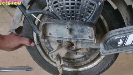 电动车轮胎漏气不用去修理店,师傅教你最全的补胎技能,一学就会