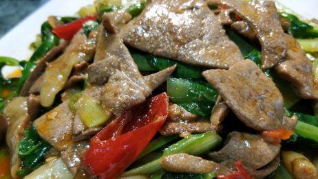 猪肝这样做,鲜嫩下饭无异味,喜欢吃猪肝的记得收藏