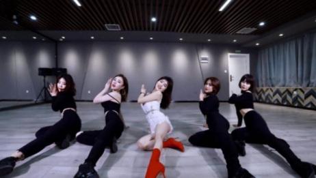 韩国爵士舞 金请夏BB 舞蹈教学 镜面动作分解