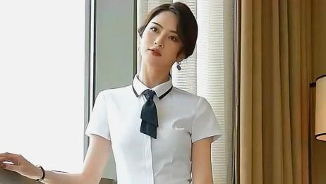 这是我的私人秘书,时尚的衬衫搭配西裤,简直太有气质了!
