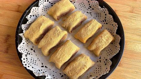 糯米粉别包汤圆了,教你好吃做法,不油炸不水煮,出锅孩子抢着吃