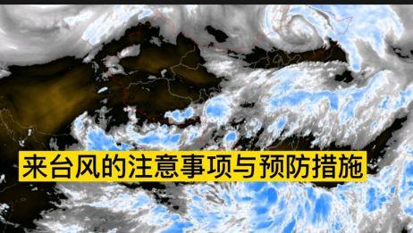 来台风该怎么办呢?分享来台风的注意事项与预防措施