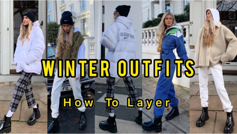 【Olivia Frost】冬季叠穿指南|How to layer Winter Outf