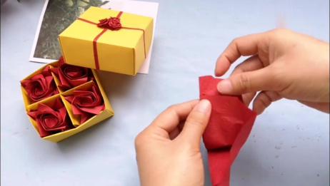 """""""如花似梦""""玫瑰花折纸制件"""
