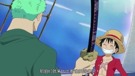 海贼王:路飞索隆一点也不消停,乔巴跟乌索普上去就是一顿揍