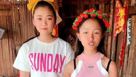 缅甸美女跟她表姐,19岁小美女温柔可爱,她竟然让表姐说这句话!