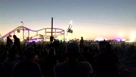 美国洛杉矶圣莫尼卡海滩每音乐会