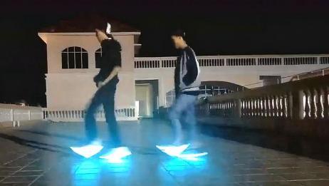 《seve》炫酷搭配发光鞋,好看又好玩,跳起来好惊艳!