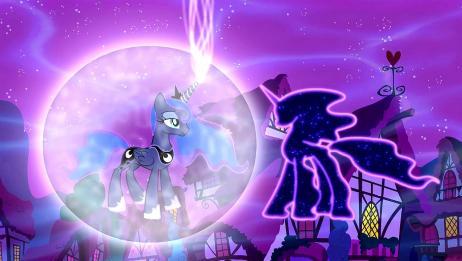 月亮公主含着泪说我相信,昙特巴斯瞬间就被瓦解了,她们成功了