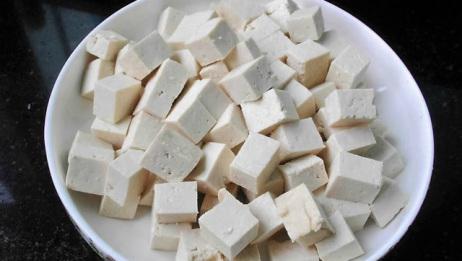 豆腐新吃法,别再炒着吃,比麻婆豆腐还好吃,就是过瘾!