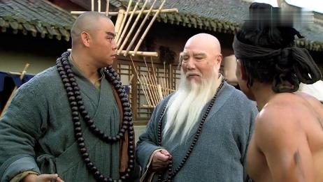 水浒传:长老是个高手,六十二斤禅杖在手中轻如鸿毛,看呆鲁智深