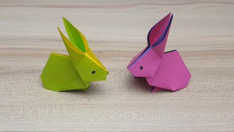超级简单又逼真的小兔子 萌呆呆的好可爱