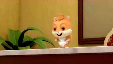 三只松鼠:小家伙你就不能歇会吗,在店里四处乱跑大闹