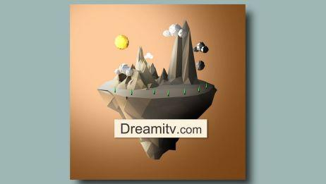【DreamITV原创教学】Cinema 4D 梦幻悬浮岛(下)