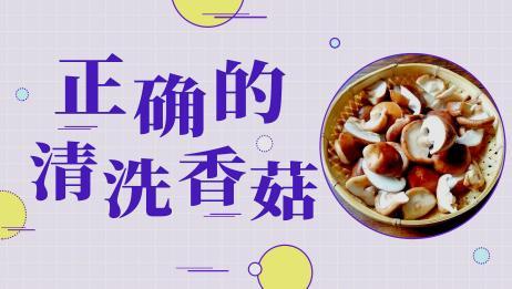 清洗香菇别只用清水!以下3招教给你,脏东西自己全跑光