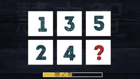 趣味智力题:看图找规律,数字1、2、3、4、5之后,应该是什么字母?