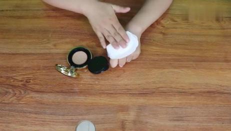 没带粉扑怎么化妆,教你巧用卫生棉,化妆高手都知道