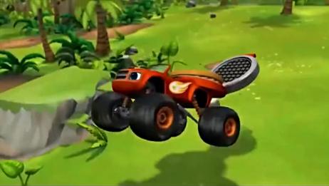 旋风战车队:巨大机器人主厨阻拦飚速的去路