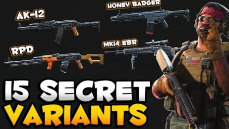【COD16】目前版本已知的15把隐藏武器及其配置教程