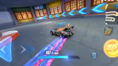 QQ飞车:游戏银河战舰跑11城
