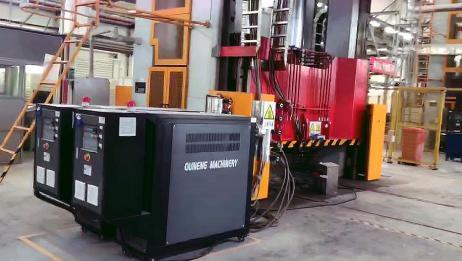 SMC玻璃钢模压模具油加热器,温度均匀