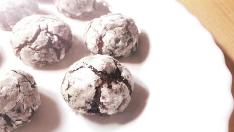 圣诞甜品香橙巧克力雪球的烘焙方法,甜美又不失清新,宝宝超爱吃!