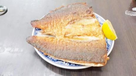 台北这家店的煎虱目鱼肚太好吃了,130台币一份,量大味道超级棒