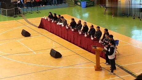 """甘肃省师大附中2019届高三""""百日誓师大会""""为学子加油祝福"""
