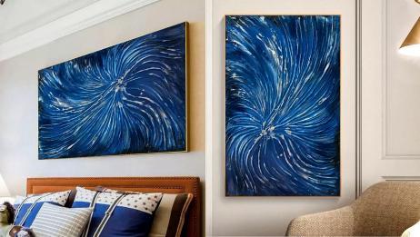 如何手绘创意墙面装饰画 用艺术让你的房间靓起来