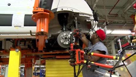福特MVP商务车Transit出厂全过程!这才是汽车生产商!专业!
