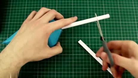 手工制作:外国大神用纸张制作火影里的手里剑