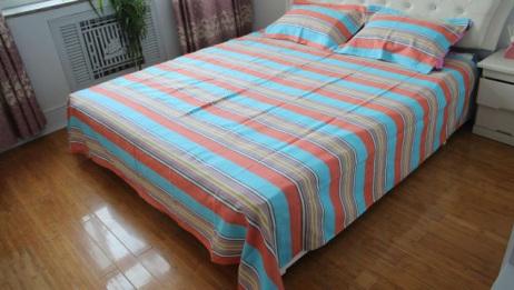 床单泛黄又脏又旧?教你正确的清洗方法,省时省力,还能除菌