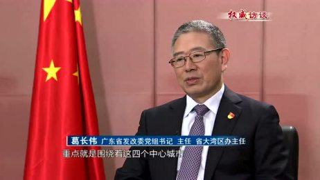 广东:推进粤港澳大湾区建设 打造高质量发展的典范