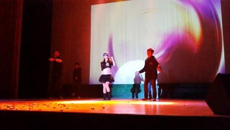 20121026九江学院浔东校区新生文艺三大赛《热舞青春》1舞蹈