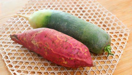 萝卜加红薯,自从和婆婆学会这吃法,我家三天两头做一次,太香了